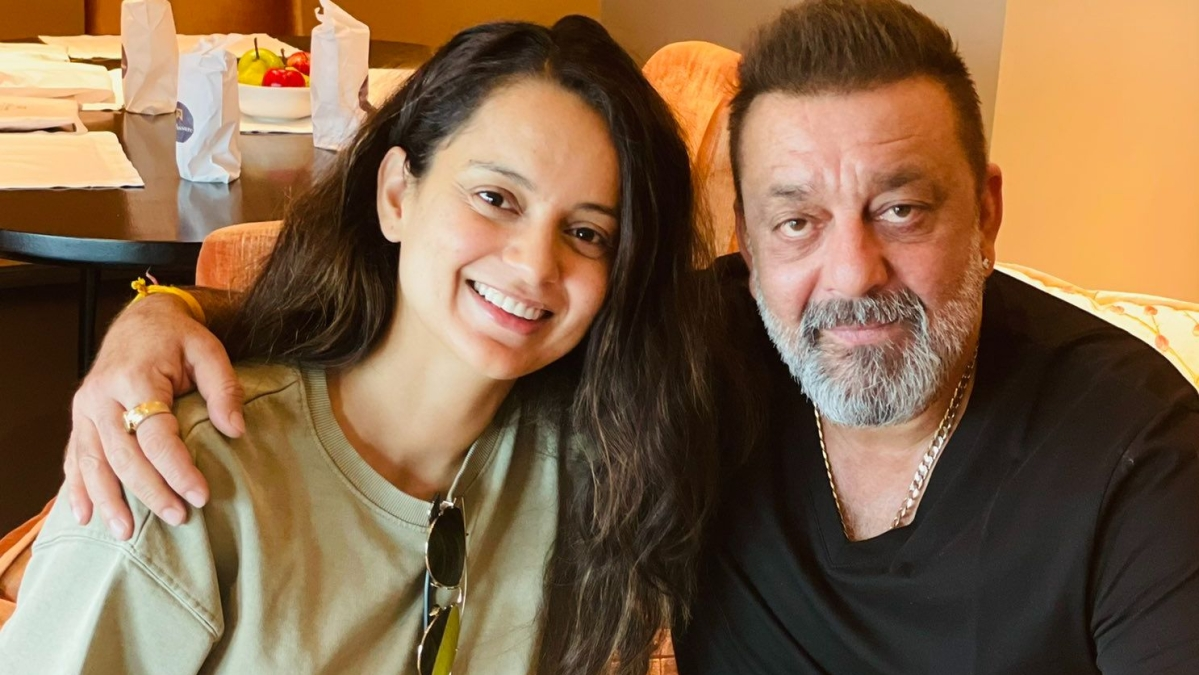 Kangana Ranaut labelled a 'hypocrite' after she meets 'drug addict' Sanjay Dutt in Hyderabad