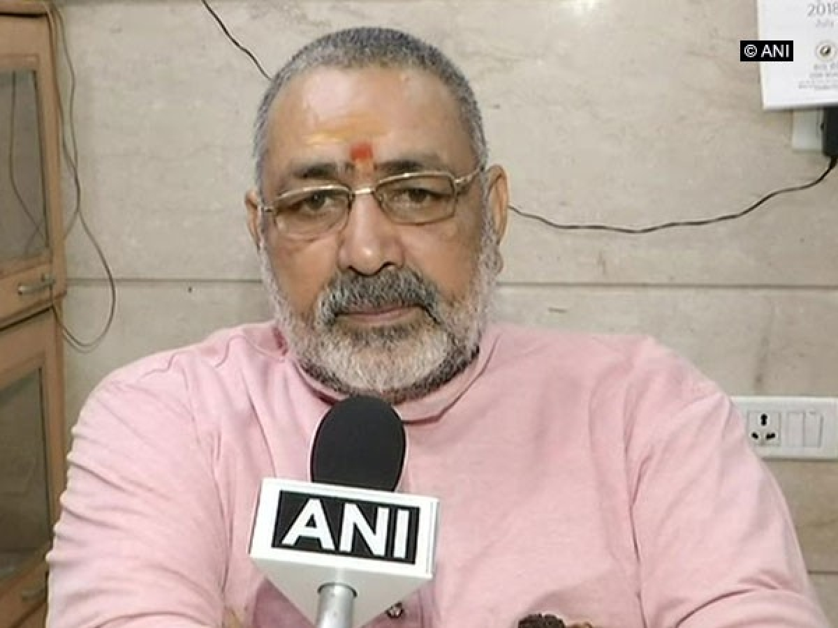 Appeasement is root cause of terrorism and religious conversion, says Giriraj Singh