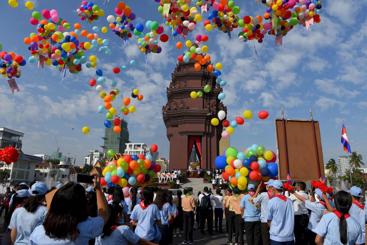 Independence Day without freedom in Cambodia