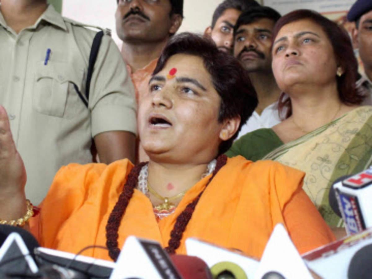 Bhopal MP Sadhvi Pragya Thakur