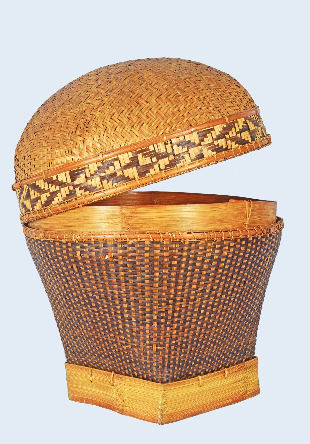 Bhopal: Phiruk, a ceremonial basket of Meitei community of Imphal exhibited at IGRMS online exhibition