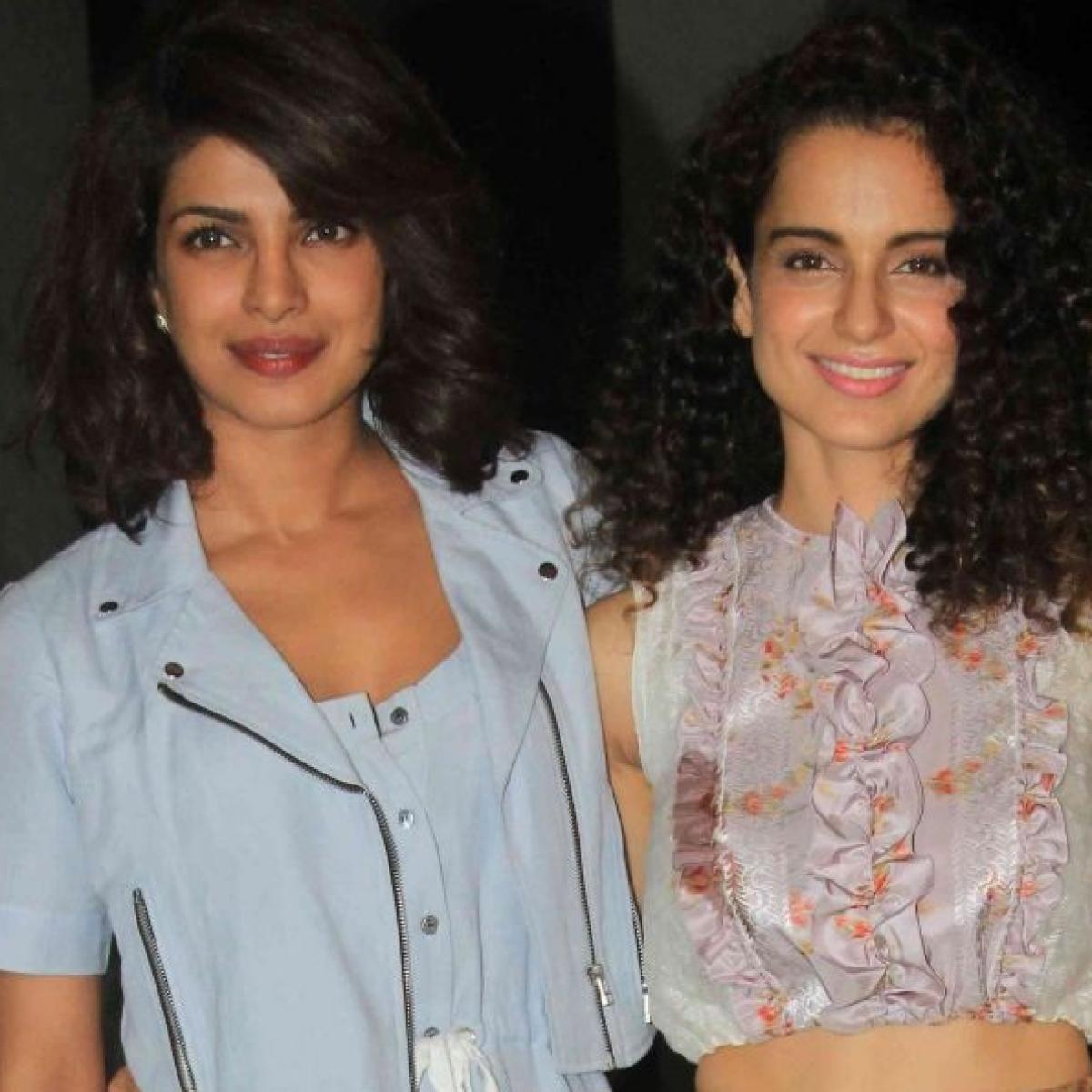 Kangana Ranaut accuses 'Fashion' co-star Priyanka Chopra of provoking farmers to incite violence