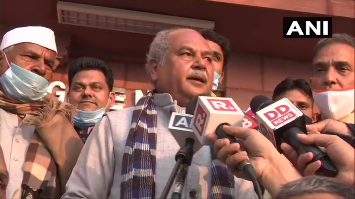 'Even Congress doesn't take him seriously': Narendra Singh Tomar reacts to Rahul Gandhi's 'no democracy in India' comment