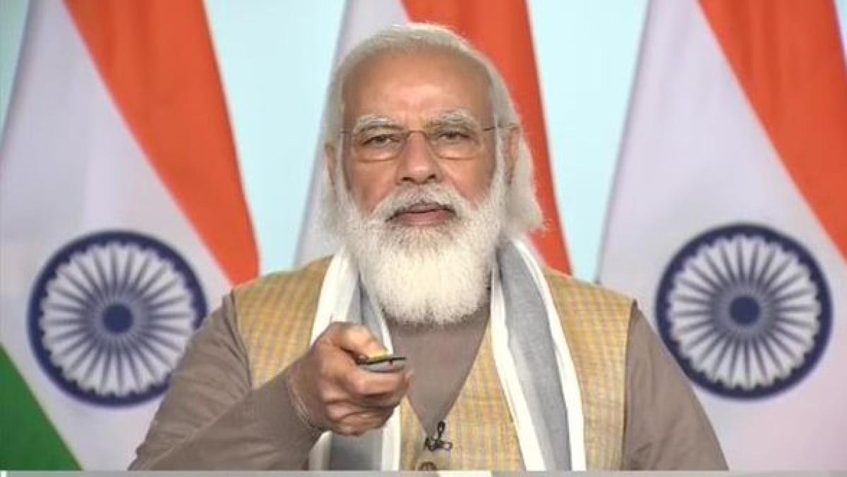 Delhi: PM Narendra Modi inaugurates India's first driverless train