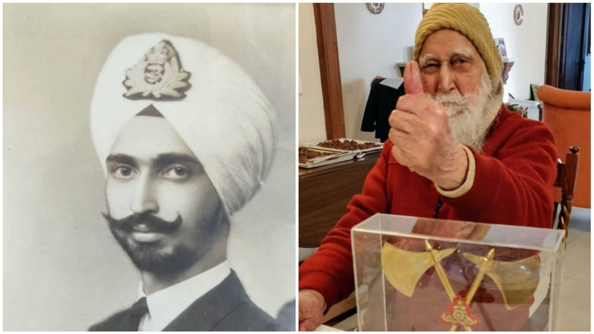 Col Prithipal Singh Gill, only officer to serve in IAF, Indian Navy, and Indian Army, turns 100 today