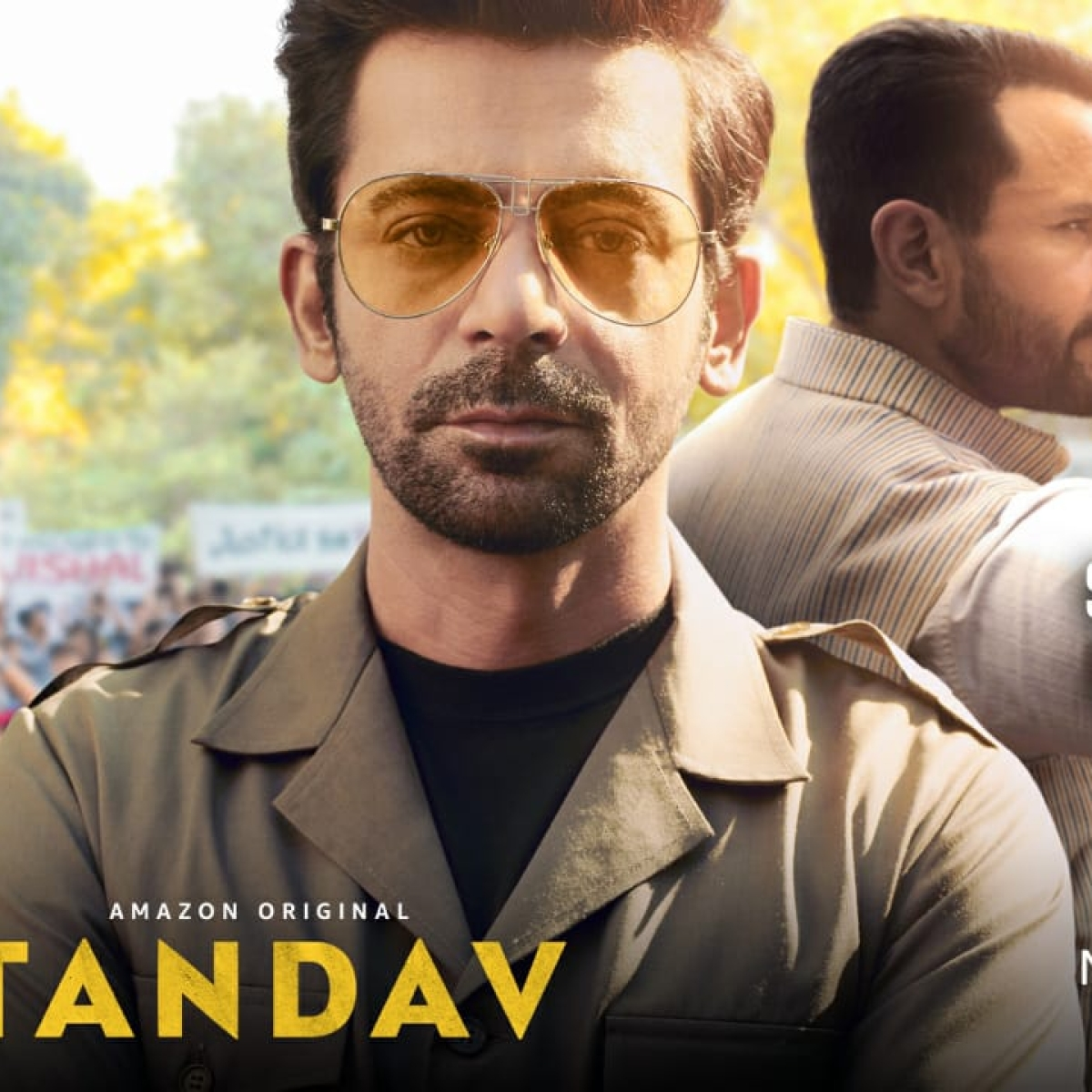 Amazon Prime unveils 'Tandav' character posters featuring Saif, Sunil, Dimple, and others