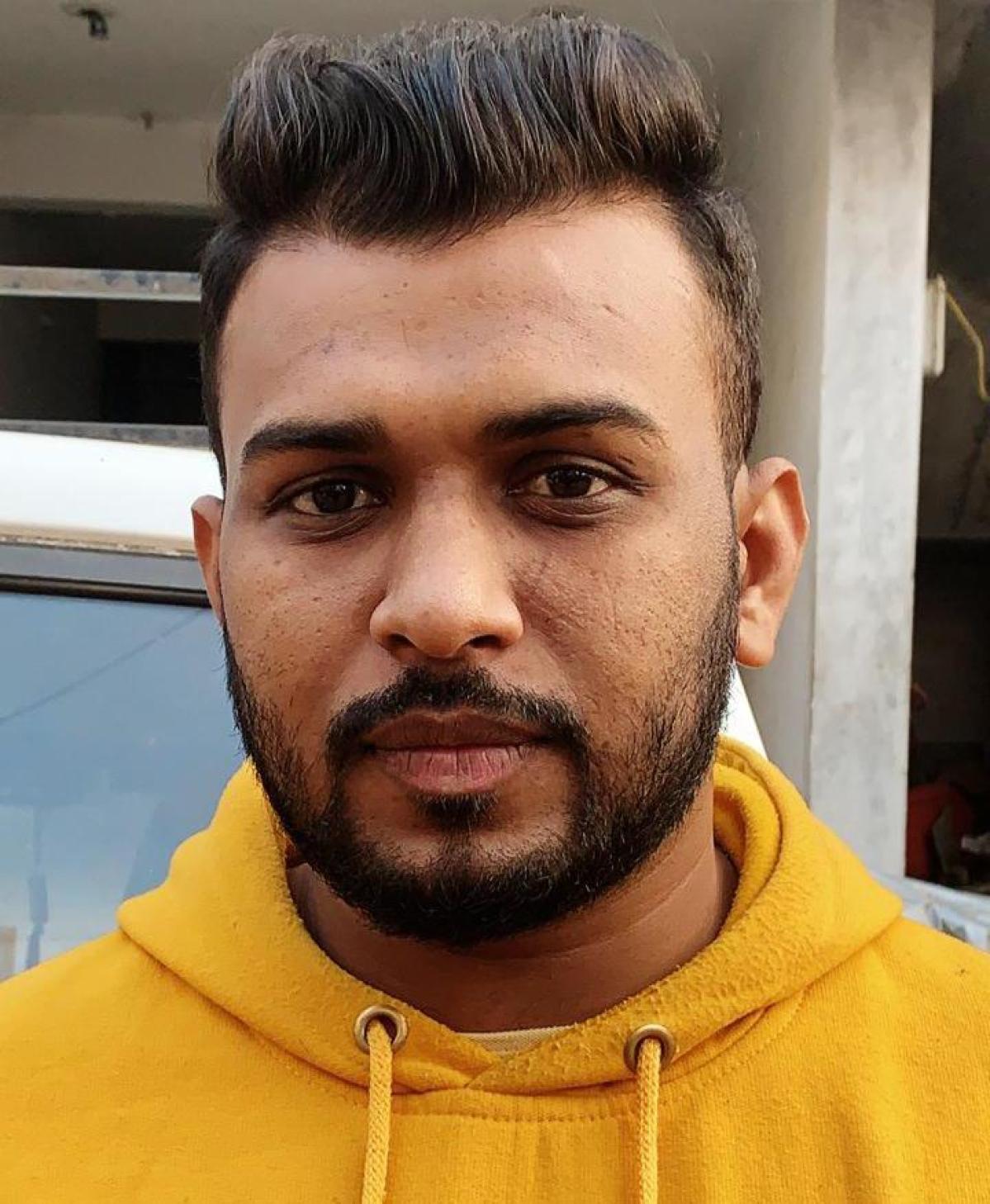 Commuter Irshad Khan