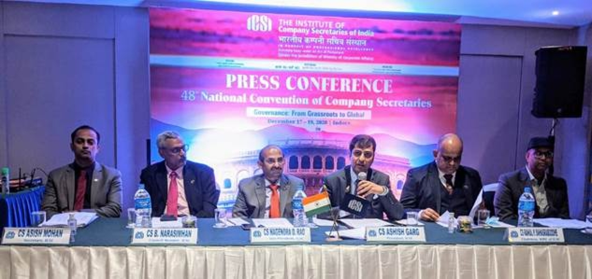 Institute of Company Secretaries of India organises 48th National Convention of Company Secretaries