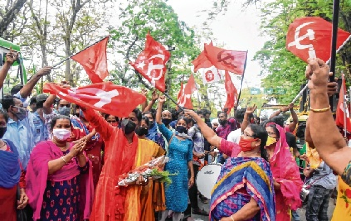 Kerala CM Pinarayi Vijayan splashes UDF bastions with red