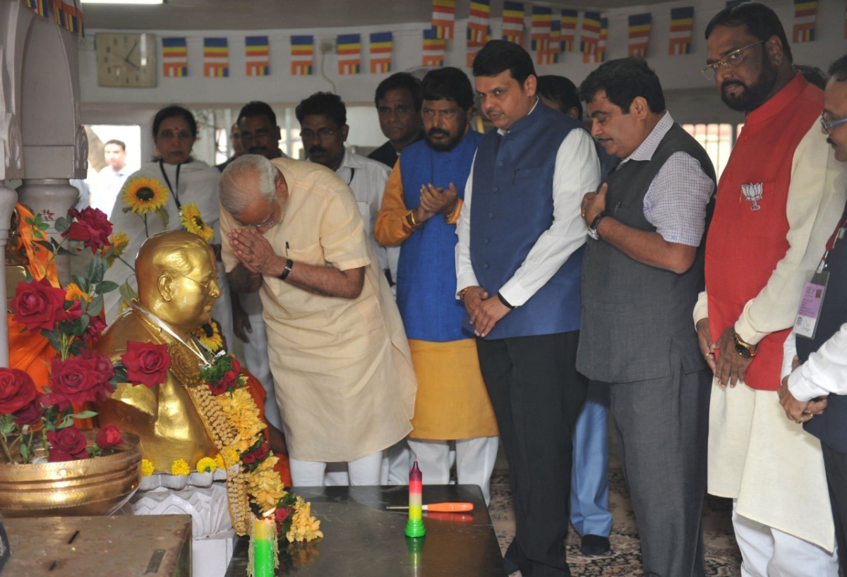 Mahaparinirvan Diwas: PM Modi, Amit Shah and others pay tributes to BR Ambedkar on his death anniversary