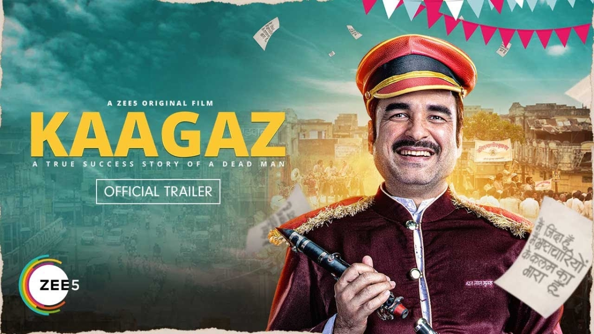 'Kaagaz' trailer out: Pankaj Tripathi to fight battle of identity in Satish Kaushik's humorous yet heart touching film