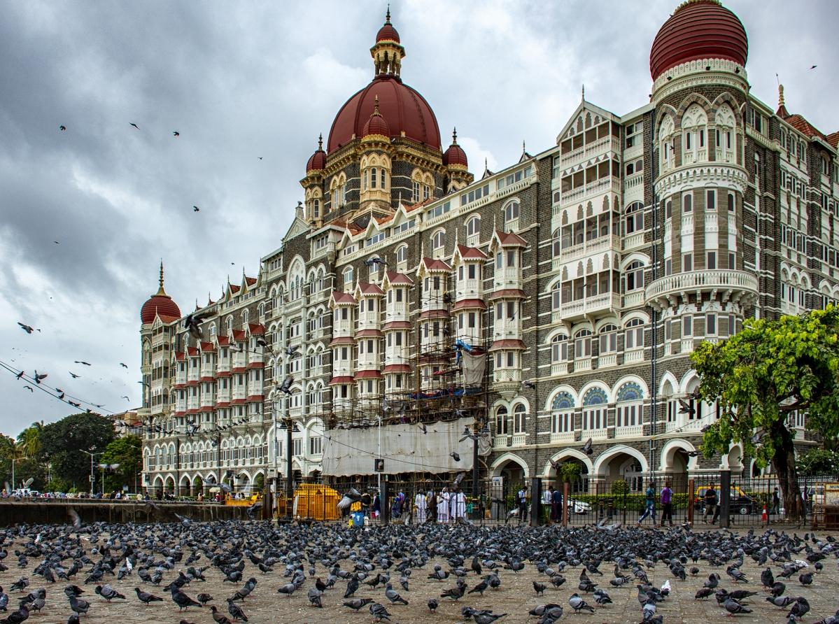 Taj Mahal hotel at Colaba