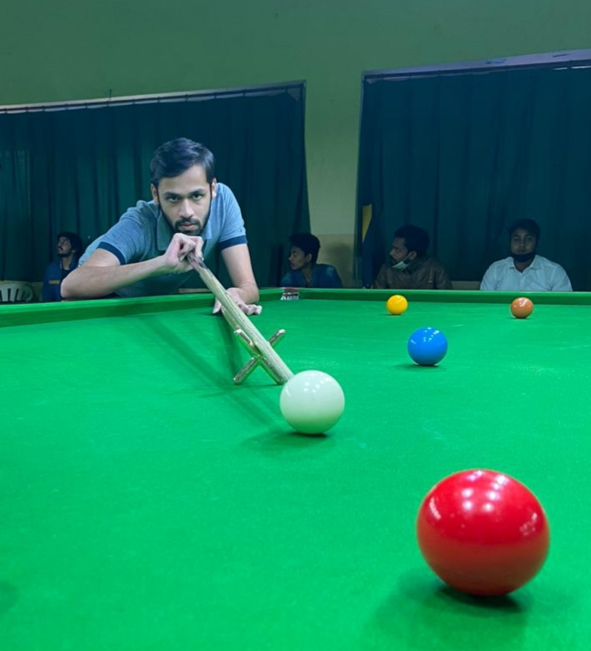 Indore: Hrithik, Harshit, Ketan and Imran reach top 16 of 34th state snooker championship