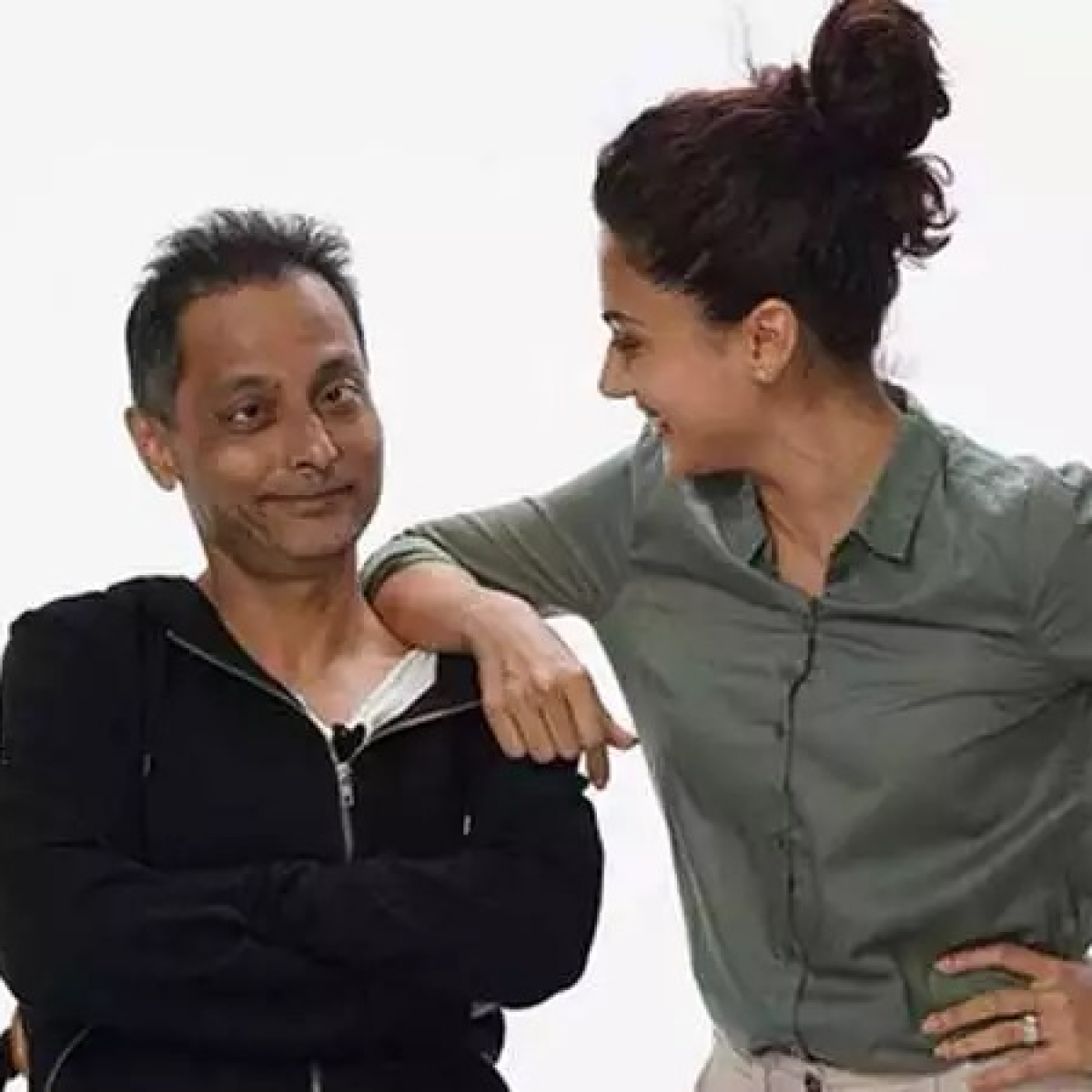'Didn't take you to the asylum': Taapsee Pannu and Sujoy Ghosh share a 'mental' joke