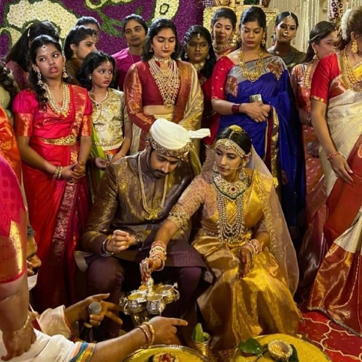 Inside pics, videos from Niharika Konidela and Chaitanya JV's lavish Udaipur wedding