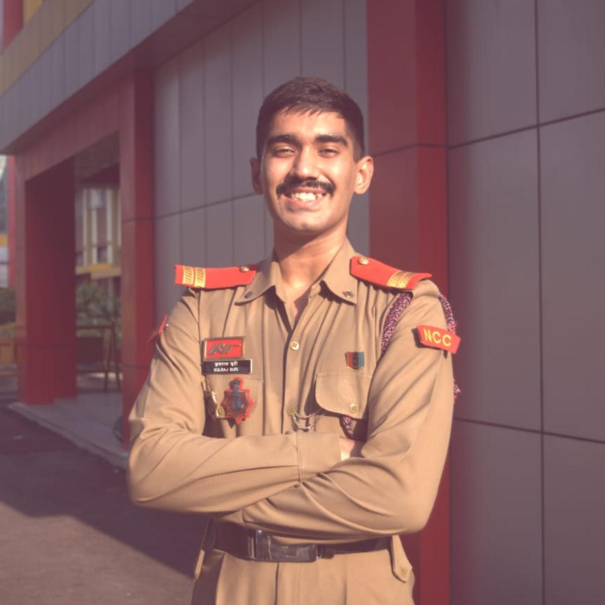 NCC senior officer Kulraj Suri wins Director General's Appreciation Medal