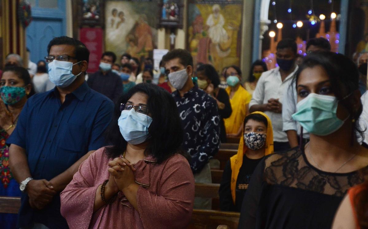Xmas in Mumbai: Christmas celebrations at home; few churches cancel mass