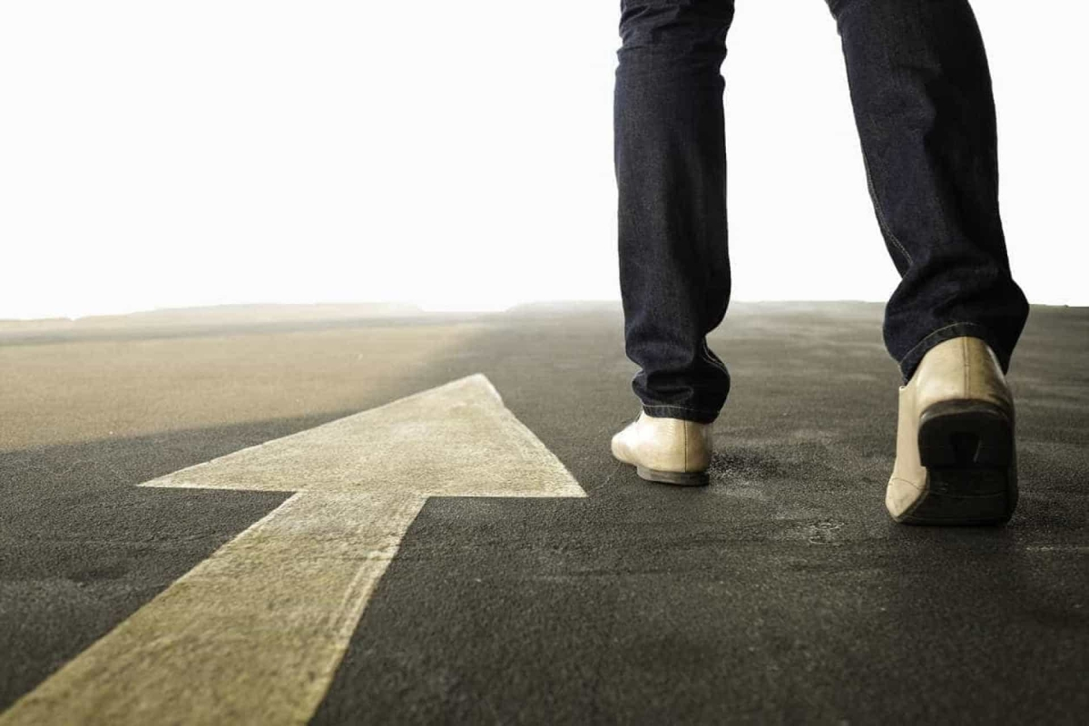 Guiding Light: Taking a determined step forward