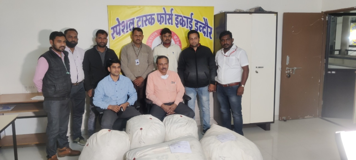 Indore: Rs 1 crore cannabis seized