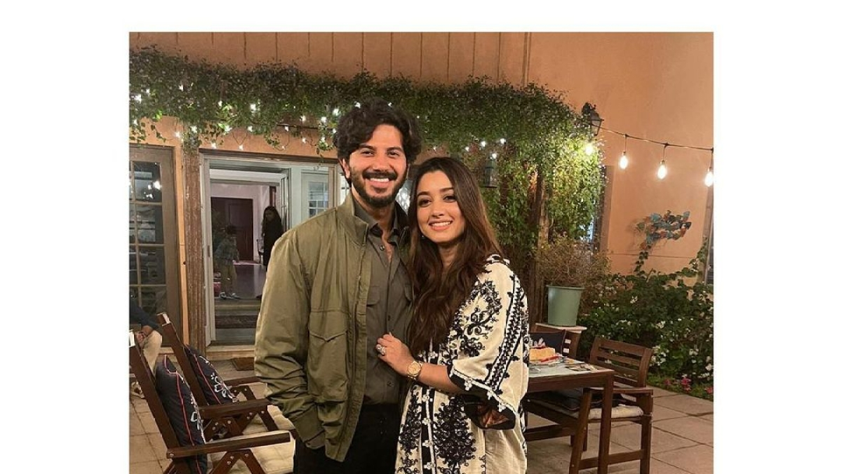 Dulquer Salmaan wishes wife Amal on 9th wedding anniversary, says 'here's to decades of us tripping, fumbling through life...'