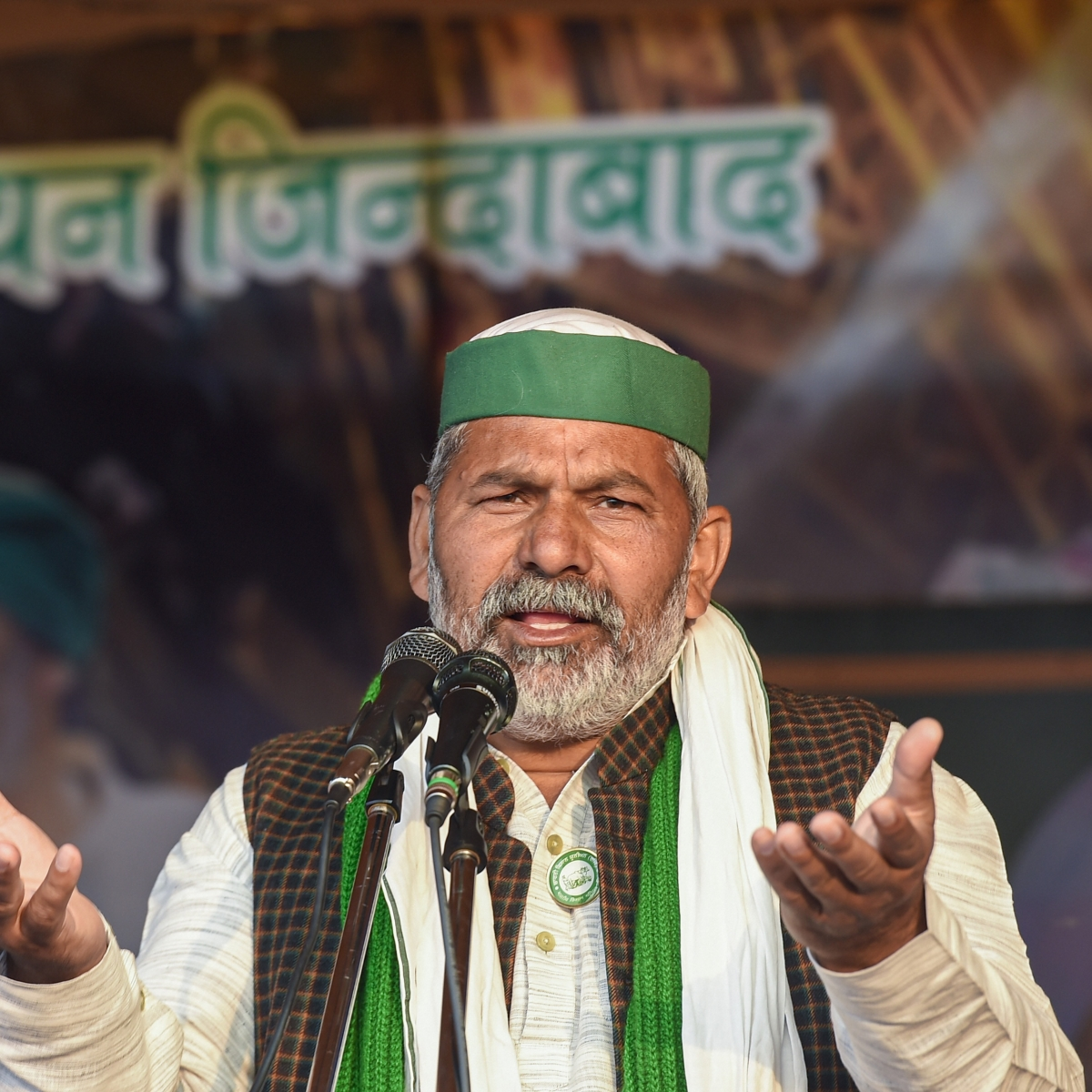 'Farmers will go home only after Centre repeals farm laws,' says BKU leader Rakesh Tikait
