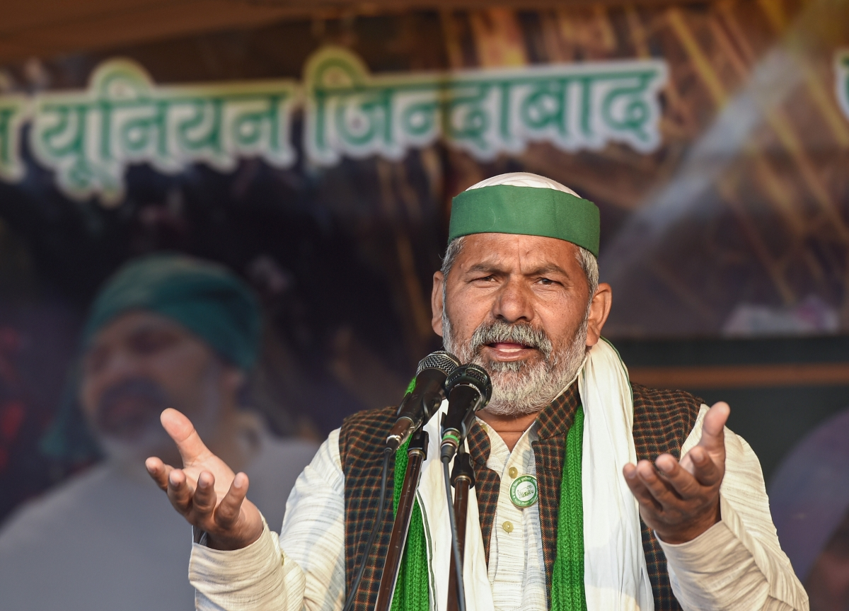 Farmers prepared to protest till May 2024: BKU leader Rakesh Tikait