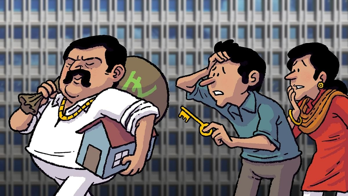 Builder and his business partner booked for cheating Andheri senior citizen