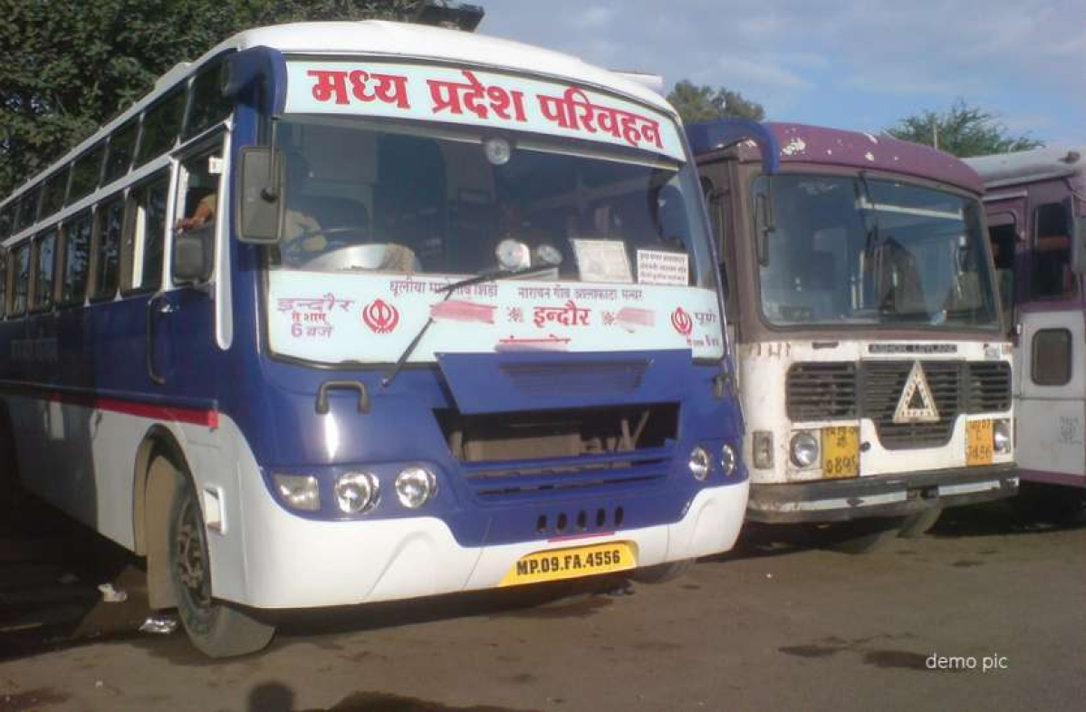 Indore: Bus operators demand 50 percent hike in fare due to hike in fuel prices