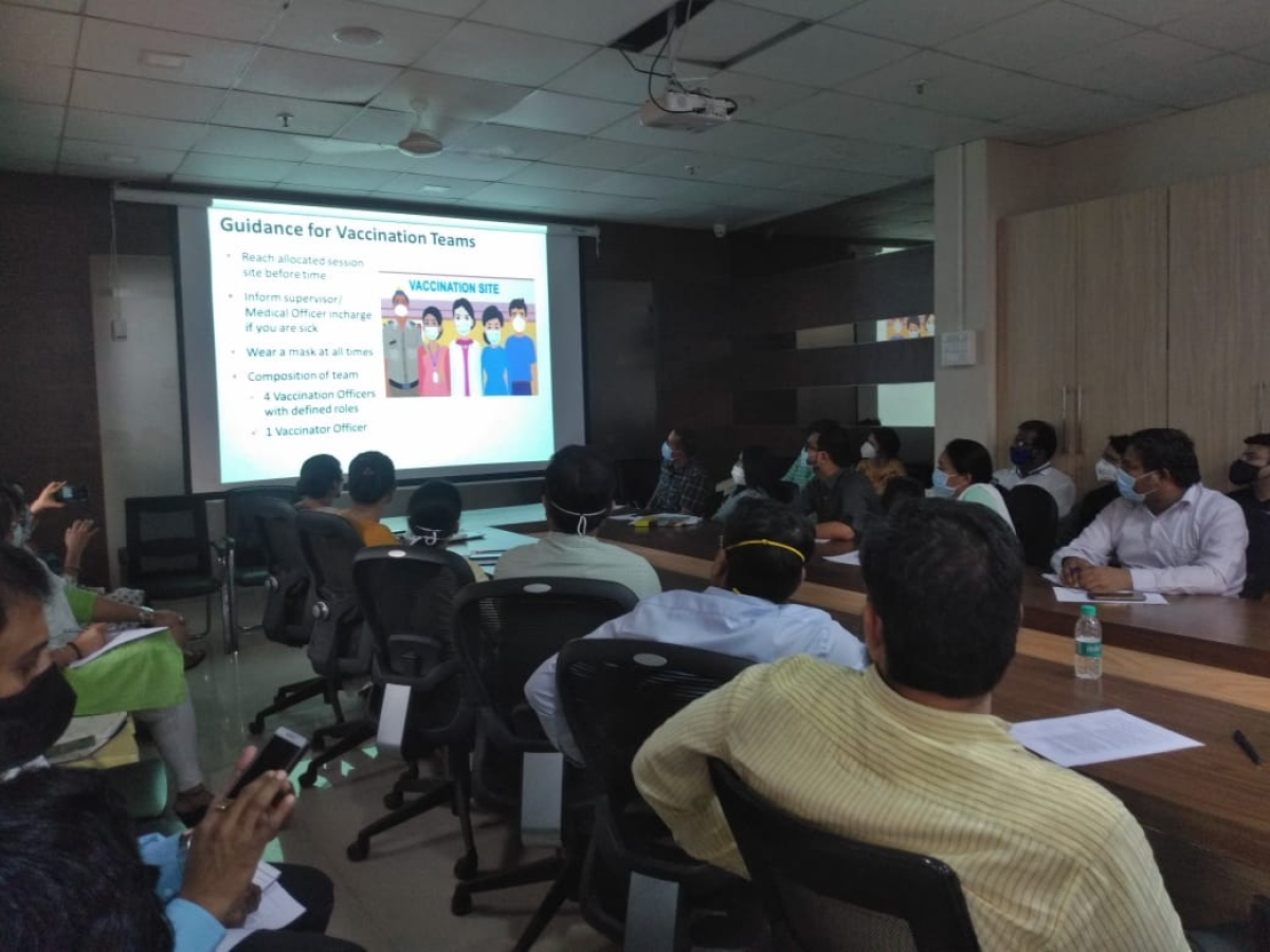 Mira Bhayandar: MBMC gears up for COVID-19 vaccine roll out; 5,836 frontline medicos enrolled in first phase