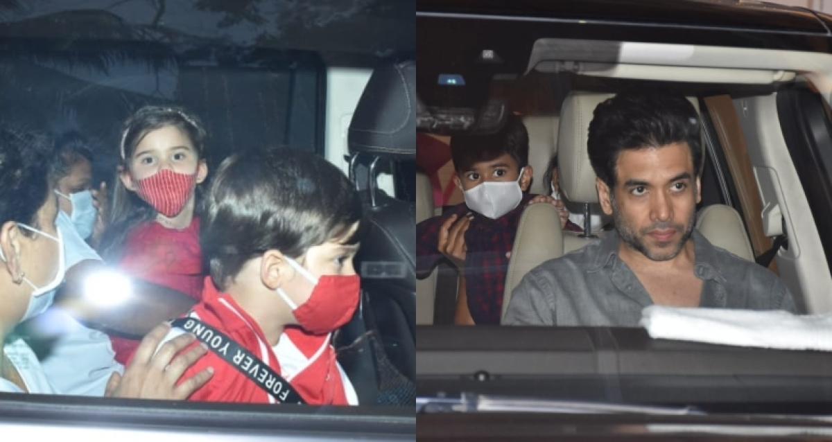 Rani Mukerji's daughter Adira turns 5: Karan Johar's twins Yash-Roohi, Tusshar Kapoor's son Laksshya attend birthday bash