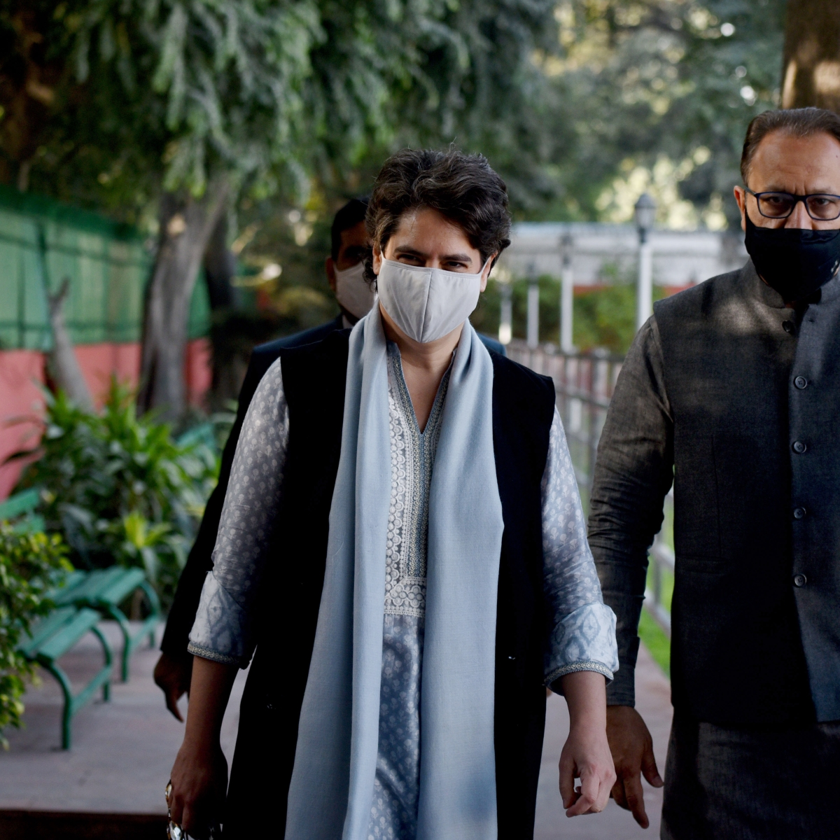 With Rahul Gandhi away, Priyanka emerges as crisis manager in Congress with her infectious positivity