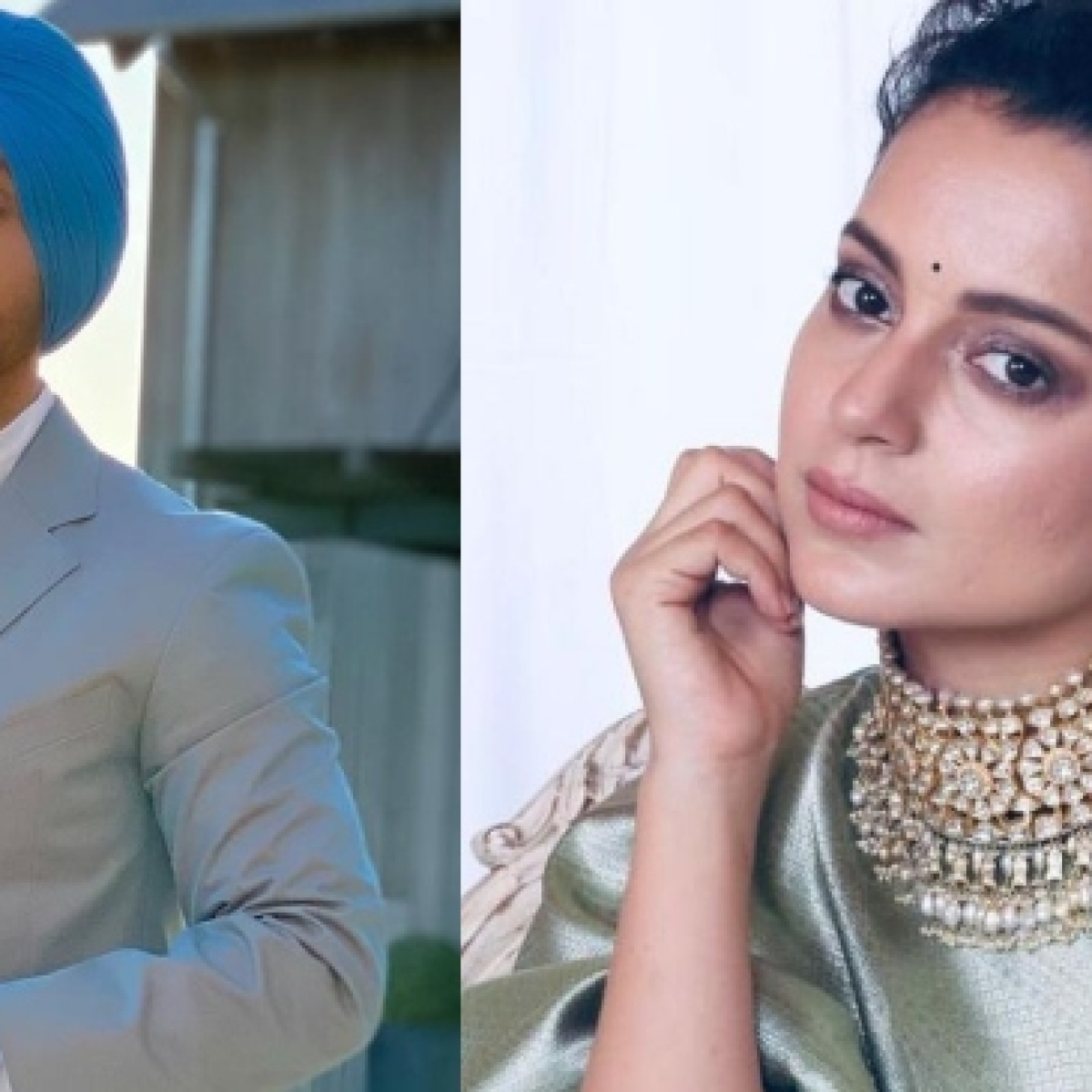 Diljit Dosanjh hits back at Kangana Ranaut for saying he has 'disappeared after inciting farmers'