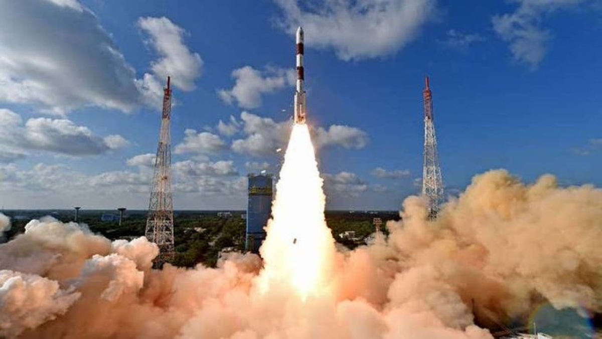 'Thank you for making India proud again': Tweeple congratulate ISRO on successfully placing CMS-01 on board PSLV-C50