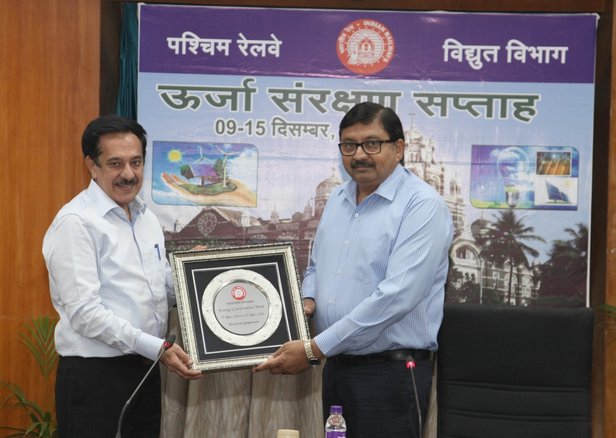 Western Railway observes Energy Conservation Week