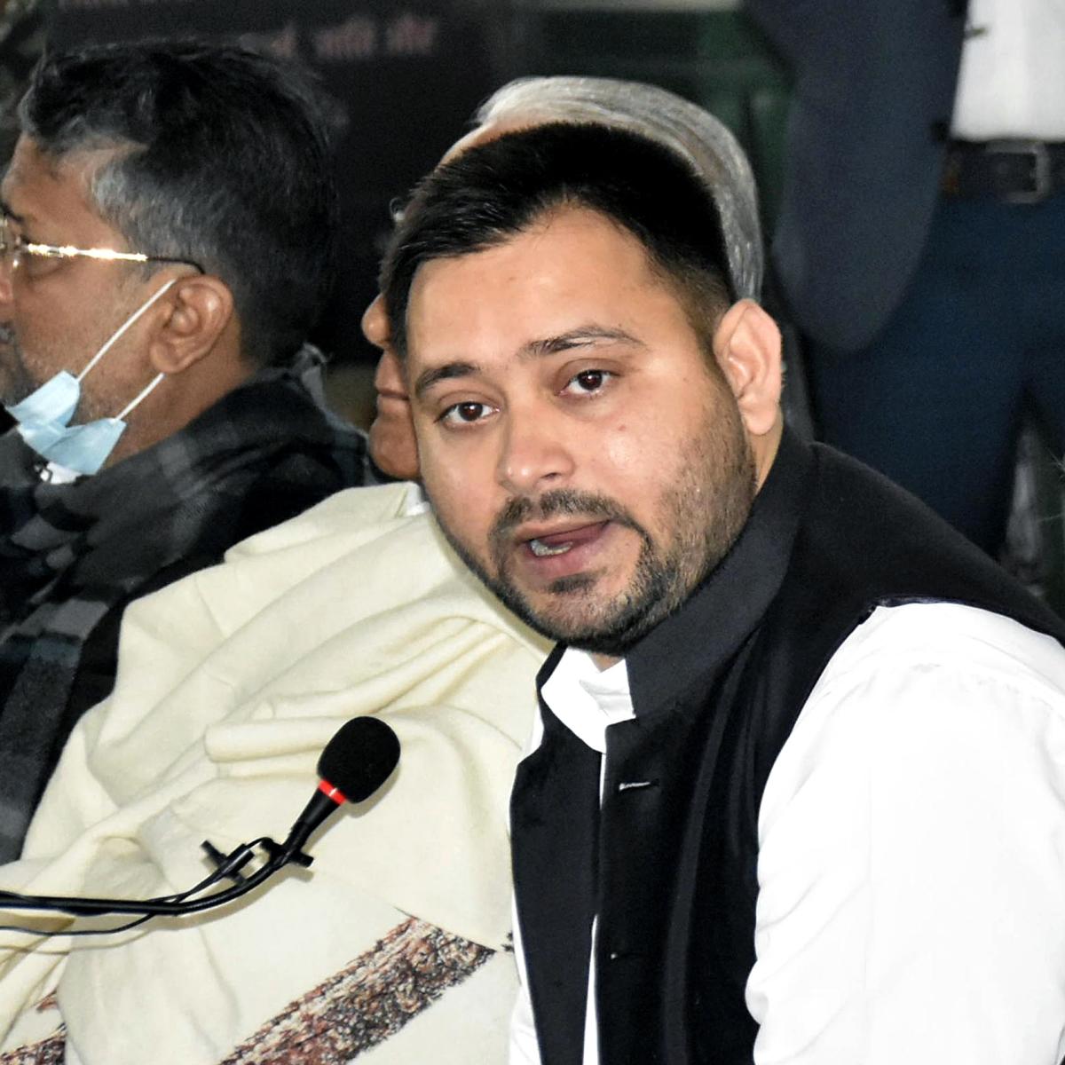 'Arrest me if you can': Tejashwi Yadav dares Nitish Kumar govt after FIR over demonstration in prohibited area