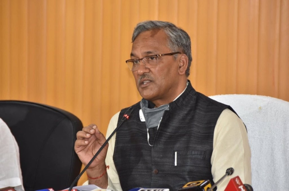 Uttarakhand CM Trivendra Singh Rawat being shifted to AIIMS from Doon Hospital after chest infection detected