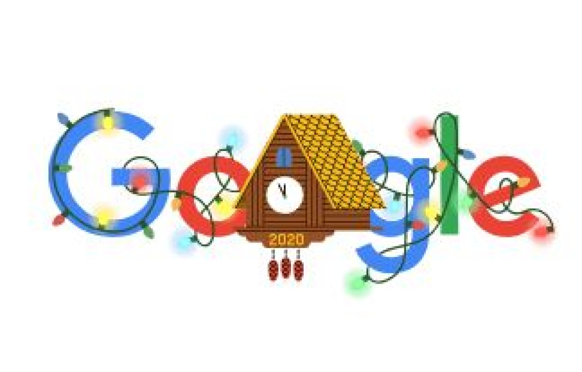 The countdown begins: Google Doodle celebrates New Year eve with adorable cuckoo clock waiting for 2021