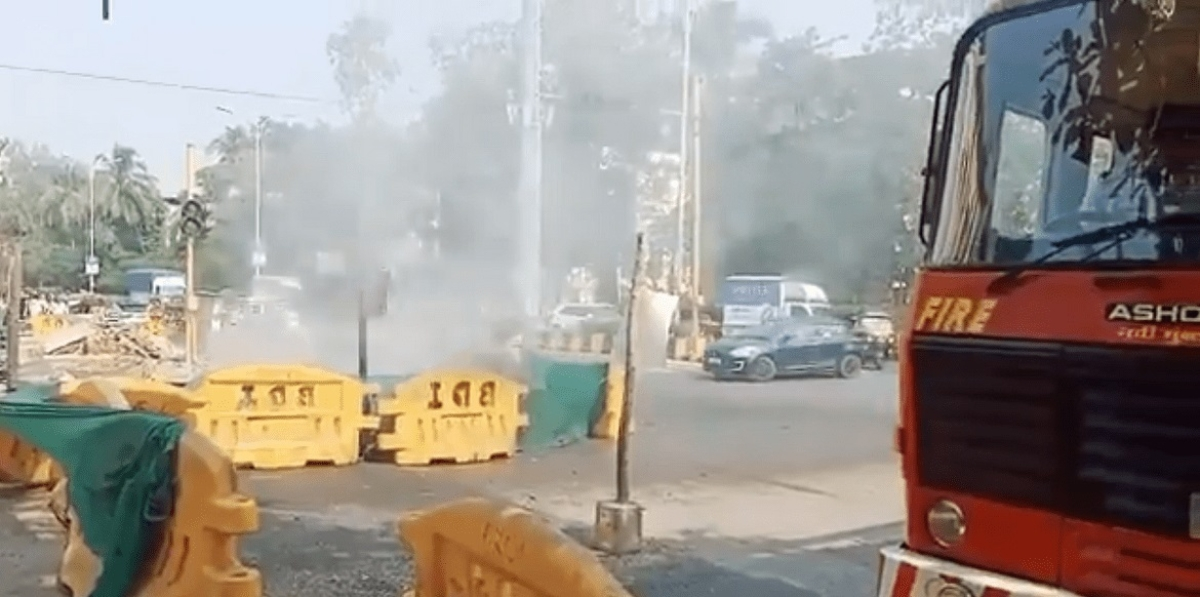 Mahanagar Gas Limited's gas pipeline damaged in Vashi, leakage reported