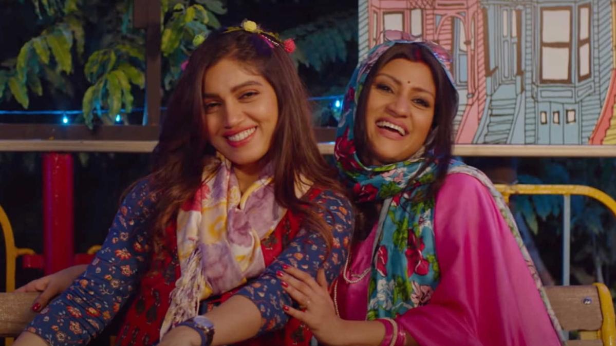 Bhumi Pednekar and Konkana Sen Sharma in Dolly Kitty Aur Woh Chamakte Sitare