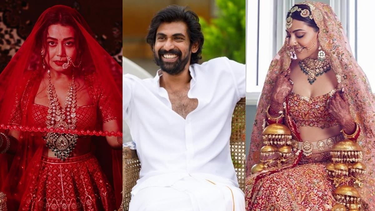 From Neha Kakkar to Rana Daggubati - Celebs who got married in 2020