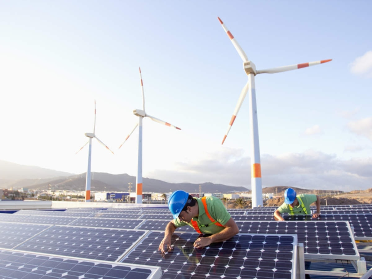 By switching to renewable energy  and expanding green cover, India  set to meet clean energy targets