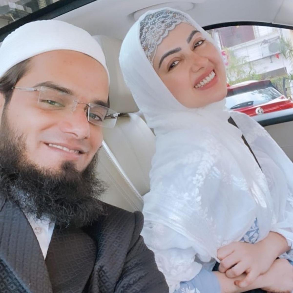 'Yeh chhoti soch ke log hain': Sana Khan's husband Anas Saiyed says he never forced her to quit showbiz