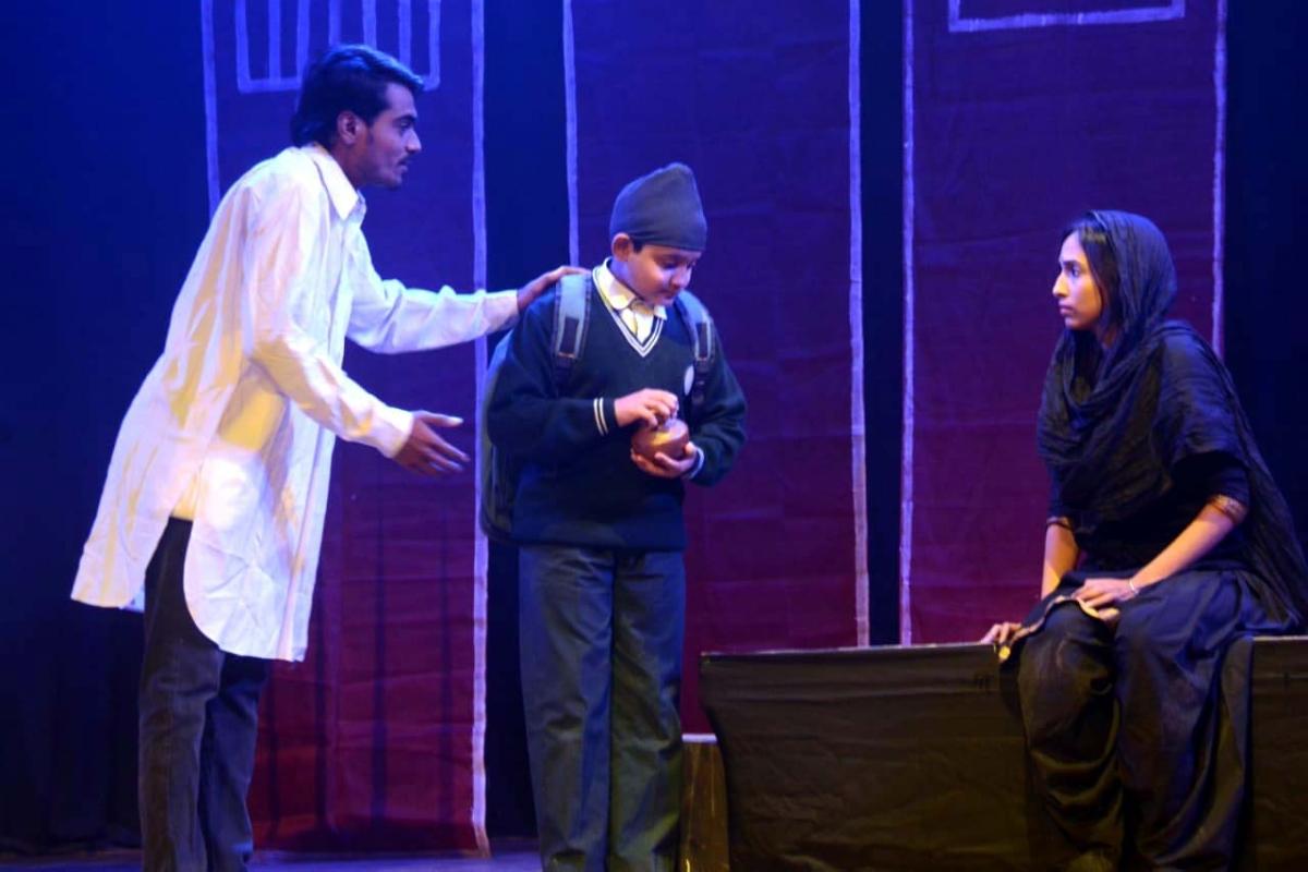 Bhopal: Play 'Jallianwala Bagh Se' showing the sacrifice of Bhagat Singh, Sukhdev and Rajguru staged at Saheed Bhavan
