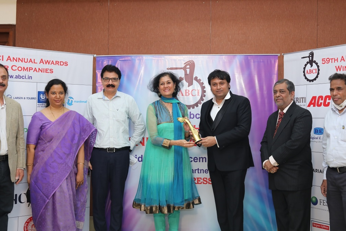 Bharat Petroleum Corporation Ltd. wins an award