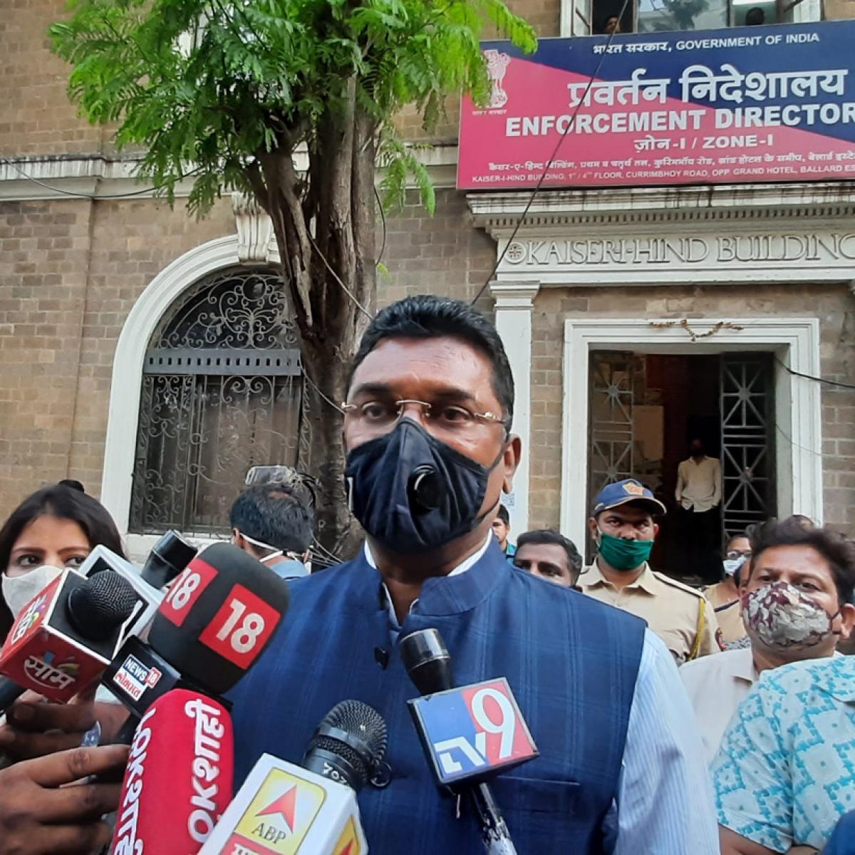 Mumbai: Sena MLA Pratap Sarnaik evades ED summons in money laundering case