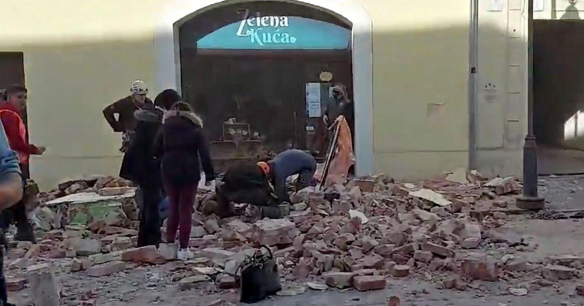Magnitude 6.3 earthquake hits Croatia; epicentre near capital Zagreb