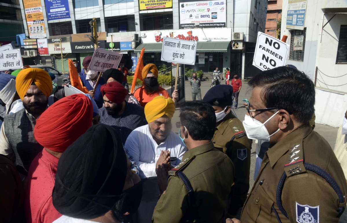Most parts of Bhopal unaffected by nationwide bandh by farmers