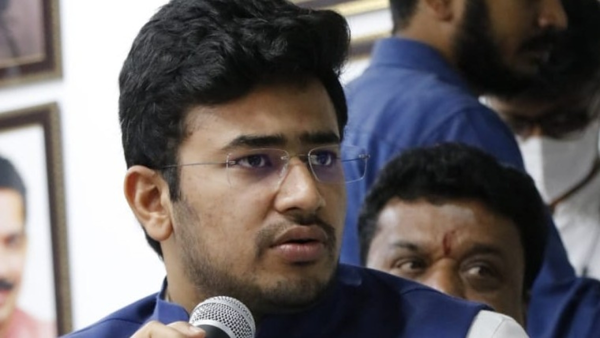 Bengaluru: Naming roads in Muslim-dominated locality with Muslim names reeks of two-nation theory, says BJP MP Tejasvi Surya