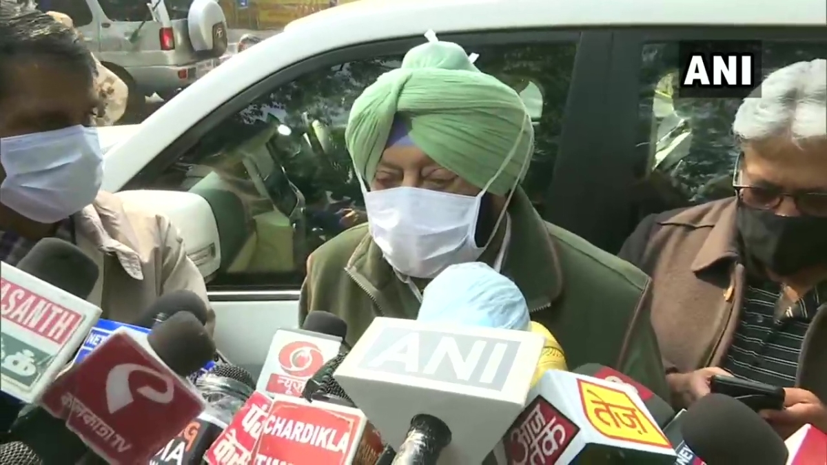 'Nothing for me to resolve': Punjab CM Amarinder Singh after meeting Amit Shah over farmers' protest
