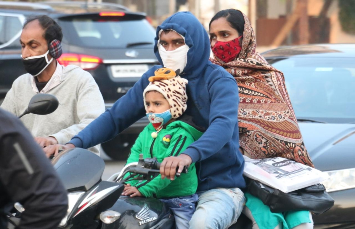 Severe Cold Day in Indore